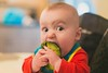 First official food experience (n.shipp12) Tags: columbus ohio food baby canon 50mm avocado eyes photographer expression paxton