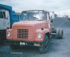 Town of Camillus, NY 1979 Ford LN-8000 chassis - truck No. 6 (JMK40) Tags: ny ford cat truck town caterpillar government louisville municipal 8000 highwaydepartment camillus 3208