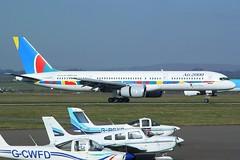 Air 2000 - Boeing 757-28A G-OOOB @ Cardiff Rhoose Airport (Shaun Grist) Tags: airport aircraft aviation cardiff aeroplane airline boeing airways 757 firstchoice 757200 rhoose avgeek air2000 gooob