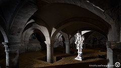 Architectural photo in Gloucester Cathedral Crypt (timothyselvage) Tags: uk travel england art church architecture photoshop photography robot nikon cathedral unitedkingdom norfolk sightseeing gloucester norwich gb pillars crypt hdr highdynamicrange anglican protestant touristattractions gloucestercathedral fineartphotography d800 lightroom 2014 architecturalphotography historicbuildings churchofengland houseofworship photomatix 2013 houseofgod religiousbuilding historicattractions placestovisit archedceiling localattractions nikkor1424mmf28 timothyselvage wwwtimothyselvagecom infotimothyselvagecom infotimothyselvage timothyselvagecom
