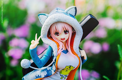 Sonico (Stereometric Photography) Tags: gift figure figures pvc supersonico sonico jfigure figurephotography