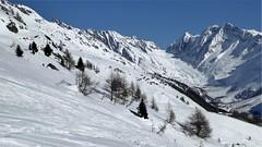 Blick vom Berghaus Richtung Lötschenlücke (bonsaifanki) Tags: winter mountains switzerland berge wallis lauchernalp lötschental lötschenlücke