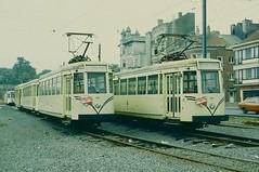 SNCV/NMVB trams 9009 and 9005 Oostende (jc_snapper) Tags: tram streetcar oostende ostend strassenbahn tramvaj ostende oos kustlijn vicinal sncvnmvb