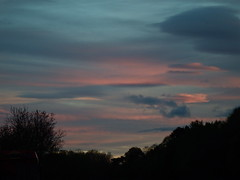 """Through the windscreen (nz_willowherb) Tags: sunset sky night see evening scotland tour dundee visit perth a90 turbulent throughthewindscreen to"""" """"go"""