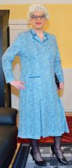 Ingrid022458 (ingrid_bach61) Tags: dress mature kleid pleatedskirt faltenrock