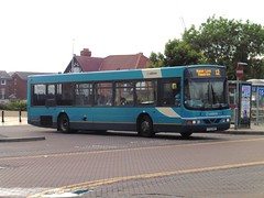Arriva 2722 - Y722 KNF (North West Transport Photos) Tags: bus volvo chester wright 12 arriva abw renown b10 wrightbus 2722 b10ble volvob10ble wrightrenown chesterbusstation chesterbusexchange arrivabuseswales y722knf