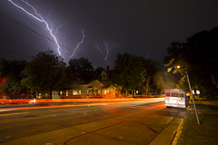 IMG_4875 (joe-stanton) Tags: storms wisconsin canon madison jamesmadison jamesmadisonpark longexposure wideangle lightning lighttrails cars