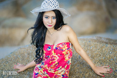DSC06115 (inkid) Tags: karin sony dslr a900 sigma hsm 85mm f14 girl female natural ambient lights portrait outdoor hair people beach fashion hat asianbabe petite sexy photography light lens sarung pretty asian asianchick asiangirl asiangirls asianmodel asianwomen babe beautiful girls hot hotasian lady legs longhair model models sensual sexyasian sexybabe sexymodel woman women bokeh dof cap