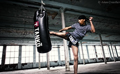 Rajan (Adam-Crowther) Tags: muaythai muaythaiequipment thaiboxing thaiboxer fighter punchbag kick