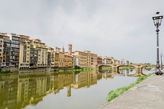 (NormandySR2) Tags: arno firenze florence italia italy toscania tuscany toscana bridge water outdoor refect sun