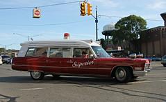 1967 Cadillac Superior Ambulance (SPV Automotive) Tags: 1967 cadillac superior ambulance wagon classic car red white