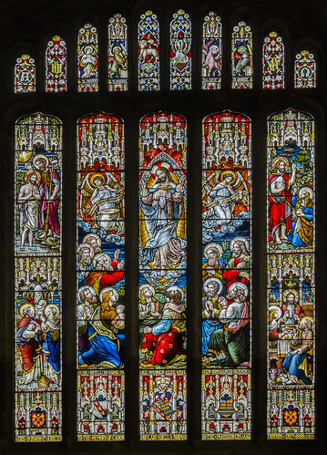 Bottesford, St Mary's church, East window