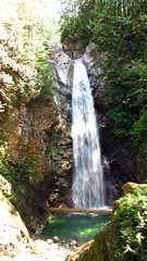 Cascade Falls (Anomieus) Tags: cascadefalls cascadefallsregionalpark mission hatzic water waterfalls falls nature beautiful forest trees bridge suspensionbridge hike majestic neverstopexploring outdoor landscape travel