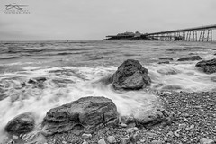 Whitewash at Birnbeck (Chris Sweet Photography) Tags: seascape birnbeck pier longexposure le sigma art rocks movement water firecrest pebbles beach