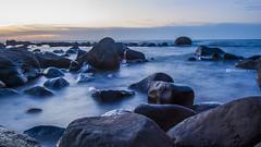 (Northern coastal) () Tags: sunset white haven stone marina canon focus long exposure angle dusk rich wave  manual    shimen     35mmf14  s35 24105mmf4   5dmarkiii sigamadg35mmf14hemart