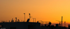Kolonki sunset (NikonStone (on and off)) Tags: nikon d7100 athens kolonaki greece sunset summer night summernight orange silhouette silhouettes antennas tvantennas urban city roof