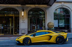 Aventador SV (Benoit cars) Tags: pictures street city urban beautiful yellow photoshop jaune canon de photography photographer photos prince images photograph fotos bild lamborghini lightroom galles 2016 superveloce photography aventador super canon car voiture flickr awesome worldcars supercars exotic expensive lp7504 hypercars supercar spotting spotted streetcars sportscars worldofcars 6d sportscar spot carscars