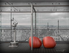 Montparnasse - La terrasse (DymFilms) Tags: paris city view top montparnasse tower red cityscape urban france europe canon eos 6d 24 70 mm hdr dri