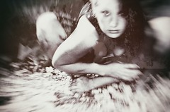 Claiming (Byrds Eye Photography) Tags: portrait people art abandoned girl female photography creepy spooky haunting darkart