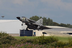 SE-DXN Saab 37 Viggen (eigjb) Tags: swedish air force historic flight eime baldonnel military base casement aerodrome dublin ireland bray airshow july 2016 aircraft jet fighter saab airplane aviation plane spotting irishaircorps irish corps