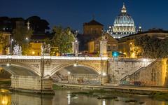 San Pietro - Vatican - Roma (redheadzr) Tags: rome vatican sanpietro saintpeter night city