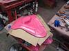 Back Molding Started (thorssoli) Tags: schick hydro robotrazor razor sdcc comiccon sandiego conx entertainmentweekly costume suit prop replica hydrorescue schickhydro