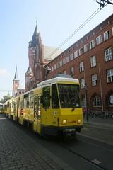 Berlin (Kpenick) (Jean (tarkastad)) Tags: tarkastad berlin allemagne germany deutschland strasenbahn streetcar tram tramway lrt lightrail