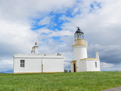Chanonry Point Lighthouse, Fortrose, Black Isle, July 2016 (allanmaciver) Tags: chanonry point lighthouse stevenson 1846 cromarty firth fort george style architecture low view neat small design class allanmaciver rosemarkieandgolspiejuly2016