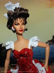 "Sara Montiel ""La reina del Chantecler"" OOAK Barbie dolls by AFD group (2016). (tovarish_barbie) Tags: sara montiel la reina del chantecler ooak barbie spain madrid mfdc afdgroup muneca espana"