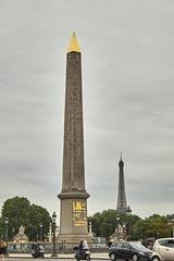 Plaza de la Concordia 3 (CarlosJ.R) Tags: francia pars placedelaconcorde plazadelaconcordia obelisco eiffel torre torreeiffel