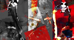 Who stoles the sky ? / Artist : Theda Tammas (OFF till 14th Bamboo Barnes - Artist.Com) Tags: thedatammas secondlife art installation virtualart digitalart surreal whostolethesky lea6 light shadow photo monochrome red grey white black yellow bamboobarnes vivid