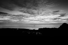 Solo (stephen cosh) Tags: alpa12wa analogue ayrshire blackandwhite delta100 dunre dusk film ildordddx landscape mediumformat mono monochrome nightshot scheidersuperangulon58mm scotland stephencosh sunset dunure unitedkingdom gb