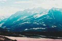 (rqlevy) Tags: canon ftb 35mm fuji velvia slidefilm crossprocessed xpro analog fromthearchives rohtangpass himachalpradesh india highpasses chorten stupa mountains travel snow