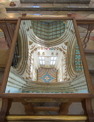Look down, to see up (bardwellpeter) Tags: nikonp330 burystedmunds cathedrals augusts churchesuk