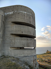 Nazi Fire control Tower on Alderney (neilalderney123) Tags: 2016neilhoward alderney nazi war ww2 odeon olympus architechure