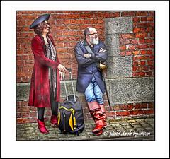 IMG_1697 PIRATE DAY  1 (Derek Hyamson (5 Million views)) Tags: hdr candid pirates albertdock liverpool 2016