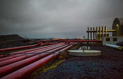 Hot Veins (imogenstraub) Tags: 2016 iceland imogenstraub owlpotheosis photography scandinavia scandinavian nordic industrial geothermal irrigation lines tubes conduits conduit terraforming terraformation sci fi scifi