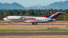 C-GQKF - Purolator Courier (Kelowna Flightcraft Air Charter) - Boeing 727-243/Adv(F) (bcavpics) Tags: cgqkf purolatorcourier kelownaflightcraft boeing 727 727f aviation aircraft airliner airplane plane yvr vancouver britishcolumbia canada bcpics