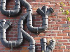 Seattle Drainpipes (Brix5) Tags: seattle brix5 bricks drainpipe brick architecture