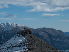 On top of old EEOR (David R. Crowe) Tags: landscape mountain nature outdooractivities scrambling canmore alberta canada