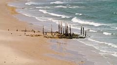 Port Willunga, SA - Australia (Mic V.) Tags: beach port star boat sand ship south sable australia greece shipwreck sa wreck plage naufrage willunga