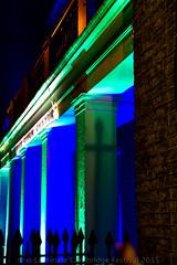 Pillars in Light