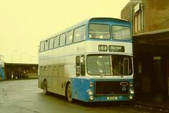 BS0373 RTO1R DERBY BUS STATION THUR 22.12.1977 (davruss001) Tags: 1977 derby rto1r