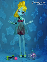 Monster High Lagoona Blue 13 Wishes (capricornmeadow) Tags: blue monster high doll wishes 13 lagoona monsterhigh