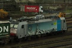 RAILPOOL Lokomotive Baureihe 186 103 - 8 im Railpool => BLS Cargo 4 Countries Design unterwegs fr BLS Cargo ( Hersteller Bombardier Traxx F140 MS - IB 2006 Nr. 34317 ) am Rangierbahnhof Muttenz bei Basel im Kanton Basel Landschaft der Schweiz (chrchr_75) Tags: chriguhurnibluemailch christoph hurni schweiz suisse switzerland svizzera suissa swiss chrchr chrchr75 chrigu chriguhurni april 2015 albumzzz201504april albumbahnenderschweiz albumbahnenderschweiz201516 schweizer bahnen eisenbahn bahn train treno zug albumblsltschbergbahn bls ltschbergbahn juna zoug trainen tog tren  lokomotive  locomotora lok lokomotiv locomotief locomotiva locomotive railway rautatie chemin de fer ferrovia  spoorweg  centralstation ferroviaria