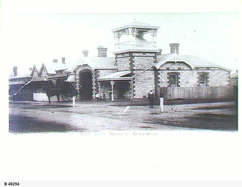Semaphore Fire Station, Hall Street, Semaphore. - Photograph courtesy of the State Library of South Australia
