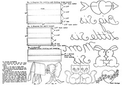 2-903 WB g (love to sew) Tags: bunnies birds hearts kittens aprons bonnets