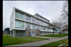 maastricht schoolgebouw v scharnweg 01 (v scharnwg) (Klaas5) Tags: dutch architektur paysbas netherlands holland niederlande schoolbuilding schoolgebouw education ©picturebyklaasvermaas architektuur postwarreconstructionera architettura architectuur nederland arquitectura architecture wederopbouw postwarmodernism midcentury gebouw building architect bouwjaar completed structure