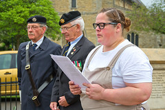 IMG_3442 (Kev Gregory (General)) Tags: lighting light club vintage private fire evening town dance costume memorial europe afternoon market tea royal william victory ve celebration service british conservative remembrance beacon legion savage rbl chatteris 1940s