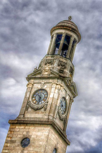 Ogdenburg New York  ~ City Hall Tower Clock~ NRHP ~  Historic Building